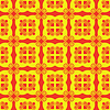 Seamless red and yellow pattern