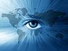 ID 3229499 | World-Karte und blaue Augen | Foto mit hoher Auflösung | CLIPARTO