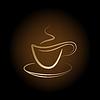 Tasse Kaffee aus