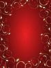 Abstrakcyjne tło z kwiatowym ornamentem | Stock Vector Graphics