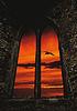 ID 3352693 | Historisches Schlossfenster und Abendstimmung | Foto mit hoher Auflösung | CLIPARTO