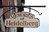 ID 3353261 | Wirtshausschild Memories of Heidelberg | Foto mit hoher Auflösung | CLIPARTO