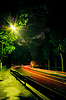 Night traffic light | Stock Foto