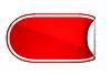 Czerwona zaokrąglona wygięty naklejkę lub etykietę | Stock Illustration