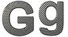ID 3236478 | Czcionki z włókna węglowego G małe i duże litery | Stockowa ilustracja wysokiej rozdzielczości | KLIPARTO