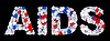 ID 3236889 | AIDS Wort: Pillen und Tabletten Form | Foto mit hoher Auflösung | CLIPARTO