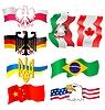 ID 3234865 | Satz von Symbolen verschiedener Länder | Stock Vektorgrafik | CLIPARTO