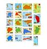 Satz von Briefmarken mit verschiedenen Ländern