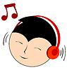 Das Hören von Musik