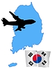 Fly me to South Korea