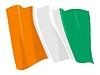 wehende Flagge von Cote-d`Ivoire