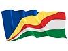 Politische Flagge der Seychellen