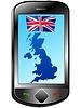 Verbindung mit Großbritannien