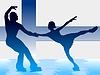 ID 3257178 | Paar Eiskunstlauf | Stock Vektorgrafik | CLIPARTO