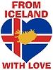 aus Island mit Liebe
