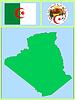 nationale Attribute von Algerien