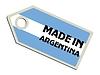 Label in Argentinien gemacht
