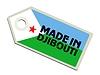 Label in Dschibuti Gemacht