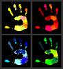 Drucken von hands