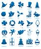 Feierliche Icons
