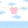 Children clothes | 向量插图