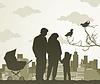 Familienwanderung
