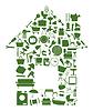 ID 3260113 | Haus von Objekten | Stock Vektorgrafik | CLIPARTO