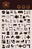 Haushalt-Icons