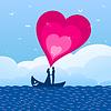 Verliebt in Boot