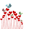 Liebes-Hintergrund