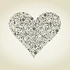 Herz von Werkzeugen