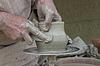 고대의 도자기 공예 | Stock Foto