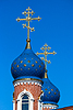 Kuppeln der russischen Kirche | Stock Foto