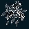 Schöne Blume | Stock Vektrografik