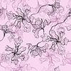 Nahtloses Blumenmuster | Stock Vektrografik
