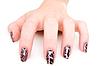 Gepflegte Frauen-Hand | Stock Foto