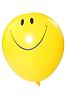 Smiley konfrontiert Ballon | Stock Foto