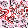Valentine dzień - bez szwu | Stock Vector Graphics