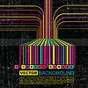 Grunge-Hintergrund mit Barcode