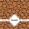 ID 3311695 | Grußkarte mit süßen Plätzchen | Stock Vektorgrafik | CLIPARTO