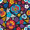 Blumen - nahtloses Muster