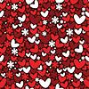 nahtloses Valentinstag-Muster