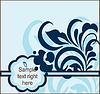 Floral pocztówki | Stock Vector Graphics