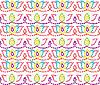 Bez szwu kolorowe tło ozdobne | Stock Vector Graphics