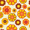 Kwiat bez szwu | Stock Vector Graphics