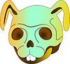 Skull Rabbit | Stock Vector Graphics