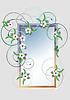 Rahmen mit Kirschblüte
