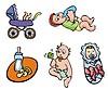 아기 | Stock Vector Graphics