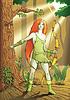 ID 3304796 | Elf weibliche Bogenschützen | Stock Vektorgrafik | CLIPARTO