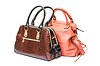ID 3298729 | Zwei Damen Handtasche aus Leder | Foto mit hoher Auflösung | CLIPARTO